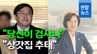 """[영상] 직속상관에 """"당신이 검사냐""""…추미애 """"상갓집 추태"""""""