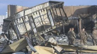 이라크 미국대사관 근처에 또 로켓공격