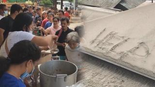 필리핀 화산폭발 이재민 100만명 추산…위험경보 유지