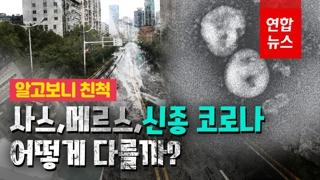 [영상] '신종 코로나바이러스'와 '사스'·'메르스' 무슨 차이 있을까?