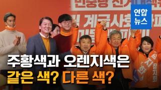 [영상] 주황색 or 오렌지색...때아닌 '당색깔 싸움'