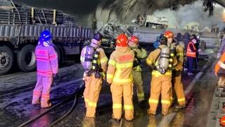 순천완주고속도로터널 30중 추돌…4명 사망·40여명 부상