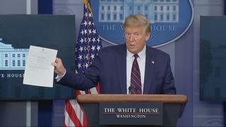 트럼프, 두 번째 검사도 음성…15분만에 결과 확인
