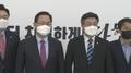 [현장연결] 여야 원내대표 첫 면담…윤호중, 주호영 예방