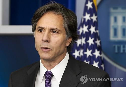 토니 블링큰 미 국무부 부장관