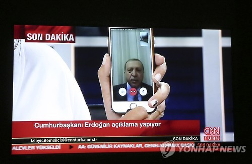 쿠데타 조기진압 '1등 공신' CNN튀르크