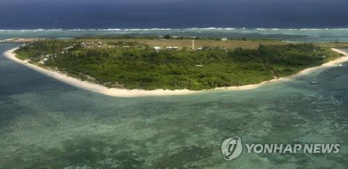 필리핀과 중국 사이의 남중국해(AP=연합뉴스)