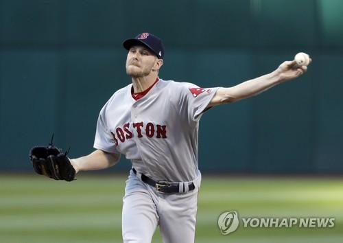 MLB 좌완 세일, 8경기 연속 두 자릿수 탈삼진 [AP=연합뉴스]