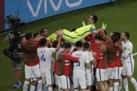 '3연속 PK선방' 칠레, 포르투갈 꺾고 컨페드컵 결승행