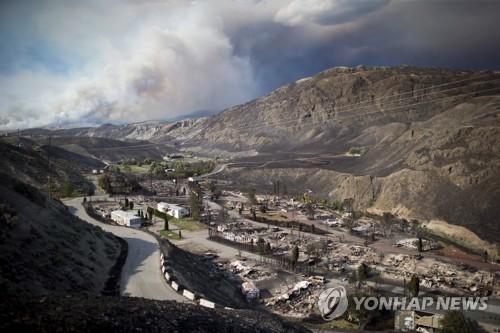 캐나다 산불 피해