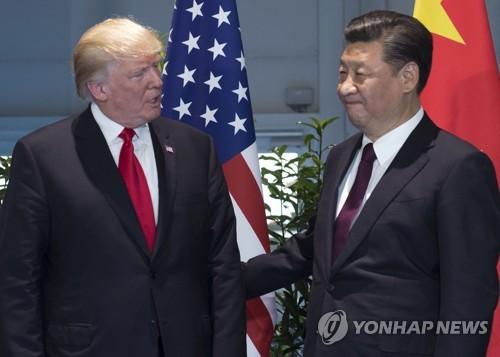 G20 정상회담에 참석한 미국-중국 정상