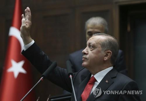 """에르도안 터키 대통령 """"우리 과제는 쿠르드지역 아프린"""""""