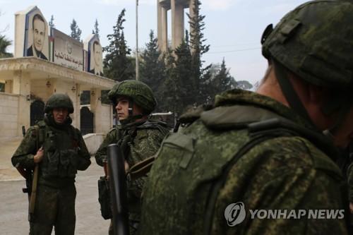 시리아 알레포에 투입된 러시아군