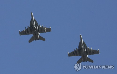 EA-18G [AP=연합뉴스 자료사진]