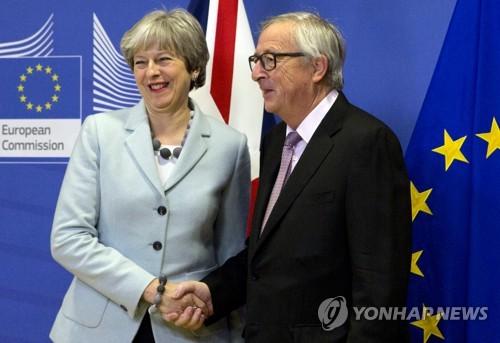 영국·EU, 브렉시트 1단계 협상 타결