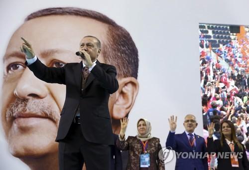 """터키 에르도안 """"아프린 동심으로 언제든 진격할 수 있다"""""""