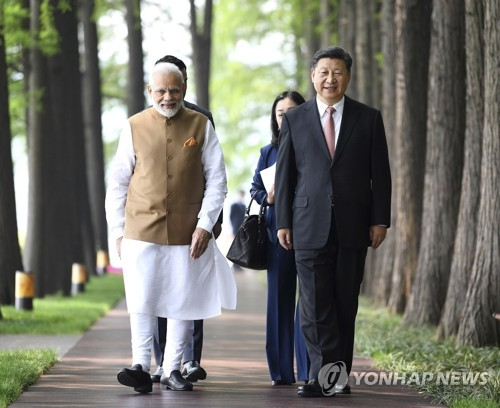 모디, 1달 반 만에 또 중국 방문…관계 개선 의지 보여