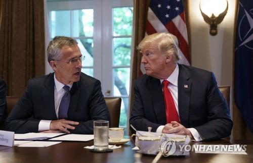 NATO 사무총장 미국 방문