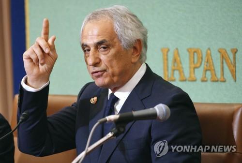 경질된 할릴호지치, 일본축구협회에 '1엔 소송'…사과 요구