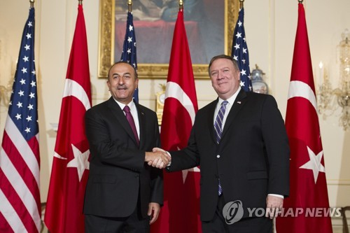 """미국·터키 """"시리아 북부 만비즈 로드맵 합의"""""""
