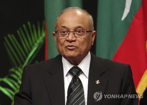 30년 통치 몰디브 前대통령, '사법방해'로 징역 1년 7월