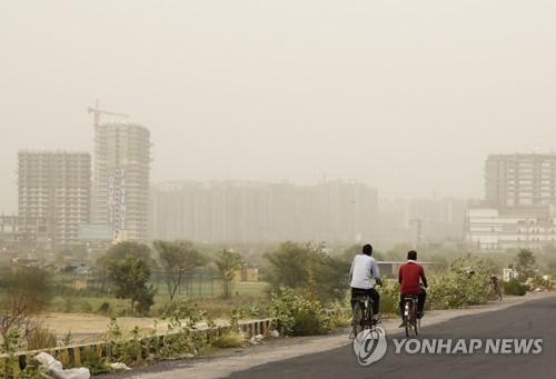 또다시 미세먼지 뒤덮인 뉴델리, 3일간 토목공사 전면 중단