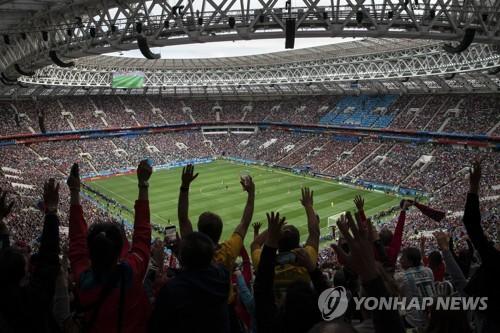 [월드컵] 골!골!골!골!골!…다섯 번 개막 축포에 '열광의 도가니'