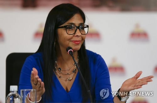 마두로 베네수엘라 대통령 재선 후 첫 개각…부통령 교체