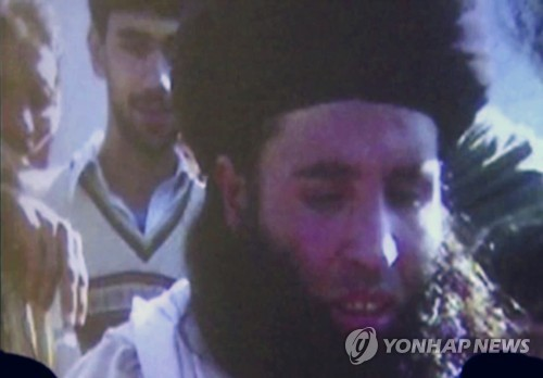 학생 140여명 살해 테러 파키스탄탈레반 수장 드론공습에 사망