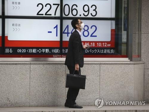 아시아 증시, 美中 '맞불관세' 위협에 2%대 급락