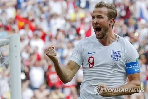 -월드컵- '케인, 행운의 해트트릭' 잉글랜드, 파나마 대파하고 16강