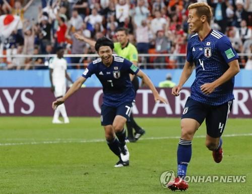 -월드컵- 일본, 세네갈과 2-2 무승부…혼다, 4골로 아시아 최다골(종..