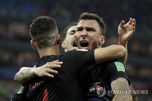 [월드컵] 골 넣고 기뻐하는 만주키치