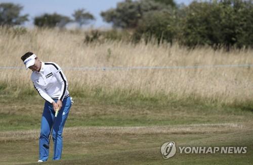 스코티시오픈 첫날 태극낭자 강세…김인경 2위·박성현 5위