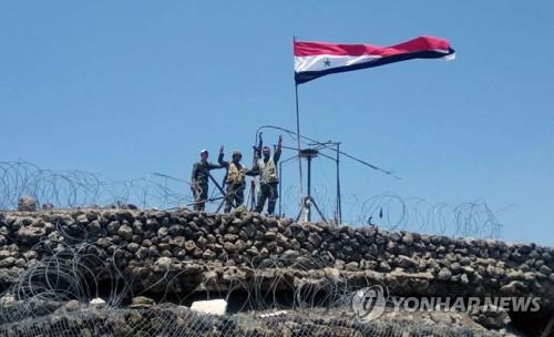 """시리아군, 반군 최후거점 이들립 포격·전단살포…""""공세 임박"""""""