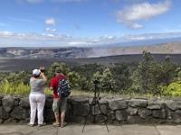 하와이 화산국립공원 135일 만에 재개장…경이로운 분화구 '장관'