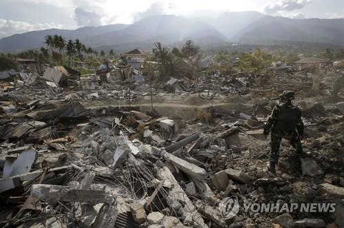 """지진참사 술라웨시 마을을 '집단무덤'으로?…인니 """"지정 고려중"""""""