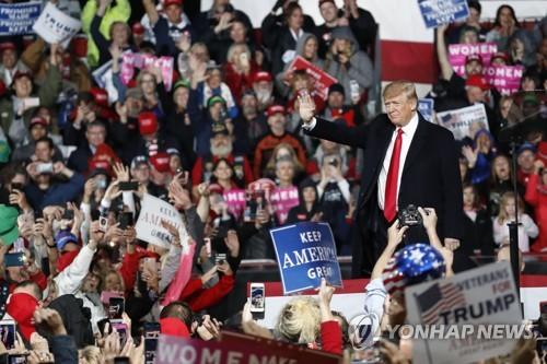 [美중간선거 보름앞] 트럼프 '정치운명' 시험대…한반도정책에 어떤 영향