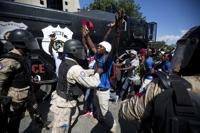 '석유자금 스캔들'에 아이티서 대규모 시위…2명 사망·수십 명 부상
