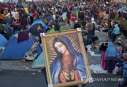 멕시코 '과달루페 성모 축일' 맞아 1천만명 성지순례