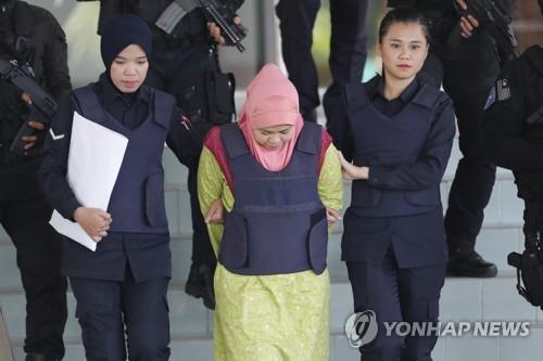 김정남 암살 재판, 증인 진술 공유 문제로 진행 지연