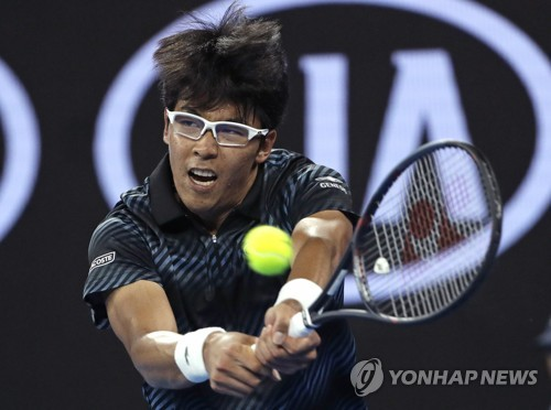 Chung Hyeon apologizes to fans after early exit at Australian Open
