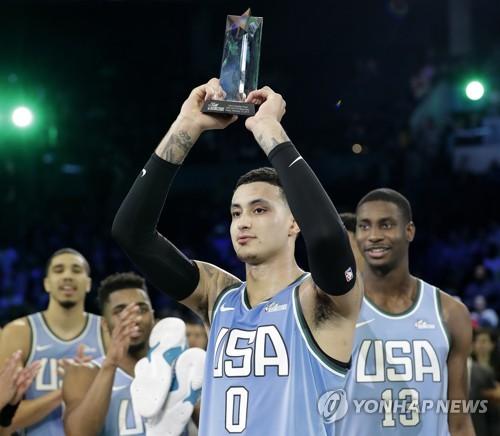 'NBA의 미래' 경연서 MVP 쿠즈마…USA팀 3년 만의 승리
