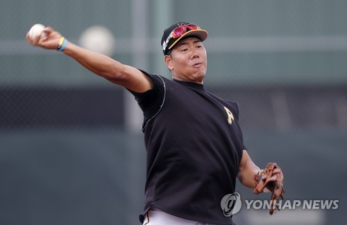 """강정호, """"24일에는 팀 훈련만""""…25일 출전 사실상 확정(종합)"""