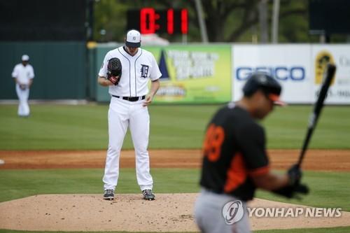 MLB, 시범경기서 '투구 시계' 도입…20초 안에 던져야