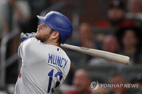 먼시, 연장 10회말 끝내기 홈런…다저스, 토론토에 2-1 승리