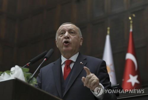 """터키 에르도안, 리비아 동부군벌에 """"적대적 태도 버려야"""""""