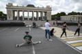 Virus Outbreak Russia Border Guards Day