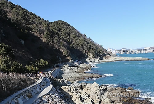 부산 이기대 도시공원 [연합뉴스 자료사진]