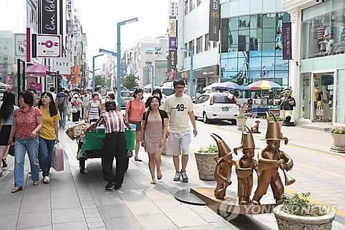 부산 광복로 [연합뉴스 자료사진]